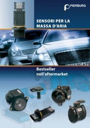 SENSORI PER LA MASSA D'ARIA - MS Motor Service International ...
