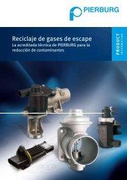 Reciclaje de gases de escape - MS Motor Service International GmbH
