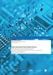 Open Government Data Studie Schweiz - itopia