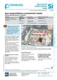 Servisní informace - MS Motor Service Deutschland GmbH