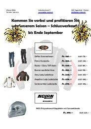 Spezielles Angebot nur für sie - Werner Keller AG