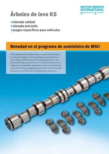 Árboles de leva KS - MS Motor Service International GmbH