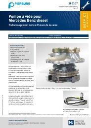 Pompe à vide pour Mercedes Benz diesel - MS Motor Service ...