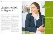 """""""Landwirtschaft ist Hightech"""" -  MTU"""