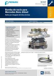 Bomba de vacío para Mercedes Benz diésel - MS Motor Service ...