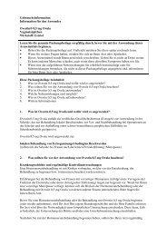 Information für den Anwender Ovestin® 0,5 mg  Ovula ...  - MSD