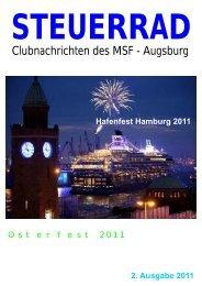 2 Ausgabe -  Motorboot - Sport - Freunde - Augsburg eV