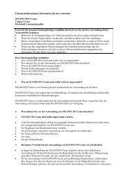 Information für den Anwender SULMYCIN® Creme 1 mg/g ... - MSD