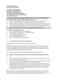 Information für Patienten ZOCOR® 5 mg Filmtabletten ... - MSD