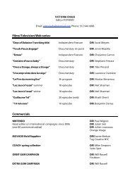Victoria Chalk_resume_2011