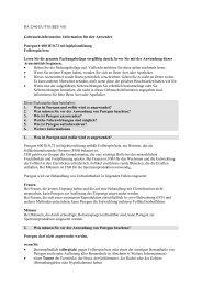 gebrauchsinformation: information fr den anwender - MSD