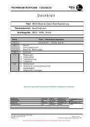 IMDS-Material-Daten-Blatt Bearbeitung - Bühler Motor