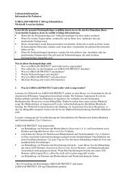 Information für Patienten LORZAAR® PROTECT 100 mg ... - MSD