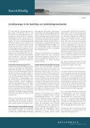 k&b 3/2010 - Kellerhals Anwälte
