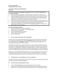 Gebrauchsinformation: Information für den Anwender ... - MSD
