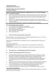 Information für den Anwender MAXALT® lingua 10 mg ... - MSD