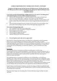 gebrauchsinformation: information für den anwender - MSD