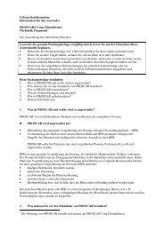 Information für den Anwender PROSCAR® 5 mg ... - MSD
