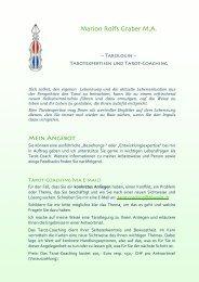 Marion Rolfs Graber M.A. - Gerd Bodhi Ziegler