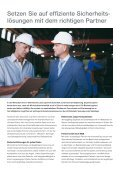 Sicherheitssysteme für Industrieanlagen - minos Sicherheitstechnik ... - Seite 2