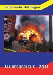 Jahresbericht Hattingen 2011 - Feuerwehr Hattingen