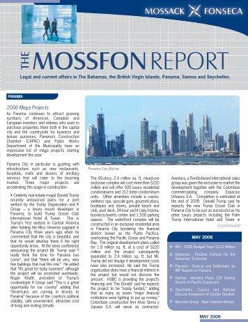mossfon report the - Mossack Fonseca  & Co.