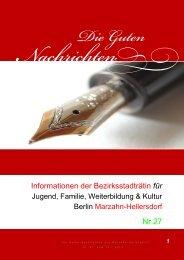 Nr. 27 vom 14.01.2013 - Hossfeld-marzahn.de