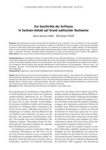 Zur Geschichte der Avifauna in Sachsen-Anhalt auf - Dr. Ralf-Jürgen ...