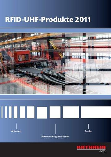 RFID-UHF-Produkte 2011 - BONANOMI AG