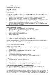 Information für den Anwender Ovestin® 1 mg Creme ... - MSD