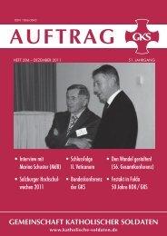 AUFTRAG_284_w.pdf - Gemeinschaft Katholischer Soldaten
