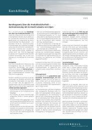 k&b 2/2010 - Kellerhals Anwälte