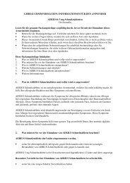 INFORMATIONEN FÜR DEN ANWENDER AERIUS® 5 mg ... - MSD