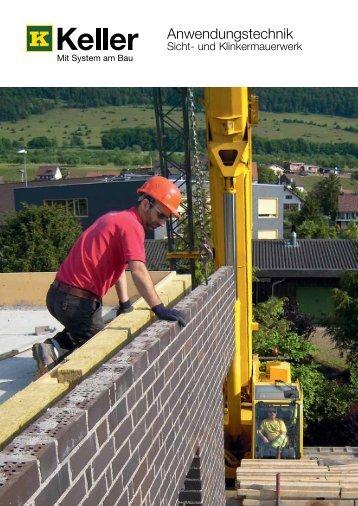 und Klinkermauerwerk - Keller AG Ziegeleien