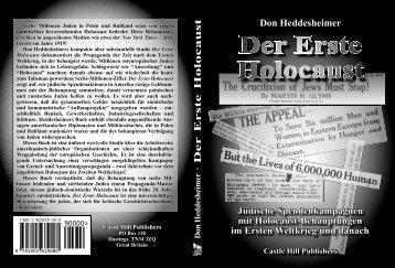 D e r E r s te H o lo c a u s t Der Erste Holocaust Don Heddesheimer