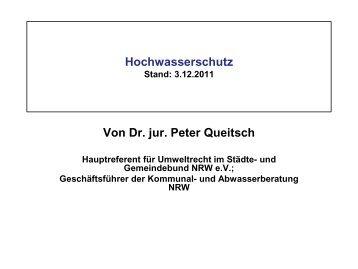 Rechtsvorgaben für den Hochwasserschutz in Nordrhein-Westfalen ...