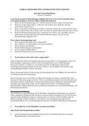 INFORMATION FÜR PATIENTEN Januvia® 25 mg ... - MSD