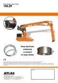 Krane / Cranes / Grues / Grúas - ATLAS Maschinen GmbH - Page 4