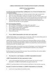 INFORMATIONEN FÜR DEN ANWENDER AERIUS® 2,5 mg ... - MSD