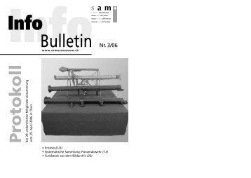 Bulletin Nr. 3/06 - Verein Schweizer Armeemuseum