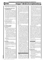 Puregon® 600 IE/0,72 ml Injektionslösung - MSD