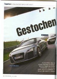 Auto Bild Sportscars (6/2007) Gestochen Scharf - MTM