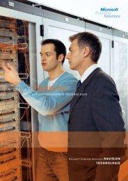 Broschüre NAV Technologie (PDF) - msu solutions GmbH