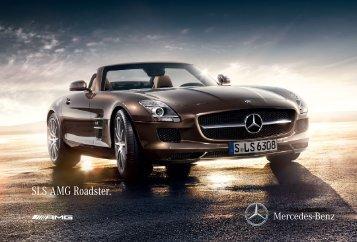 SLS AMG Roadster. - Mercedes-Benz Magyarország