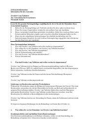 Information für den Anwender Ovestin® 1 mg Tabletten Zur ... - MSD