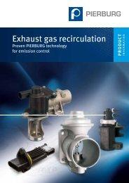 Exhaust gas recirculation - MS Motor Service International GmbH