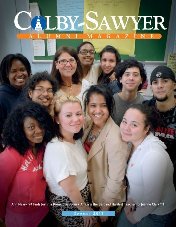 A L U M N I M A G A Z I N E - Colby-Sawyer College