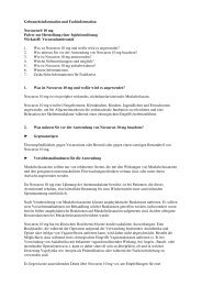 Gebrauchsinformation und Fachinformation Norcuron® 10 ... - MSD