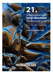 Presseinformationen 2009 (PDF Dokument) - Internationales Berg ...