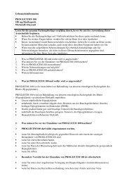 Gebrauchsinformation PROGLICEM® 100 100 mg ... - MSD